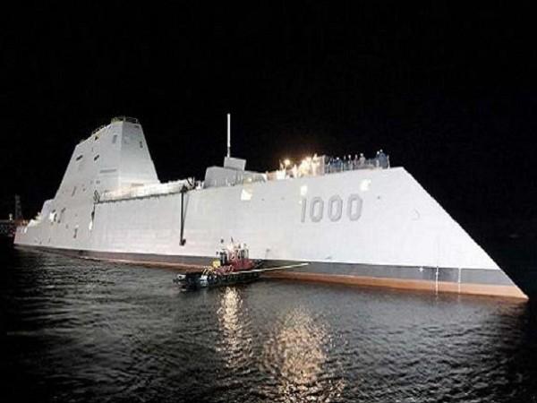 """Siêu khu trục hạm hiện đại nhất thế giới """"DDG-1000"""" sắp chính thức chạy thử ảnh 2"""