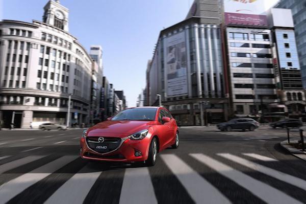 Hatchback cỡ nhỏ Mazda2 2015 lộ thông số kĩ thuật chi tiết ảnh 3