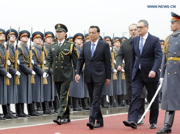 Thủ tướng Trung Quốc Lý Khắc Cường thăm chính thức Nga ảnh 1