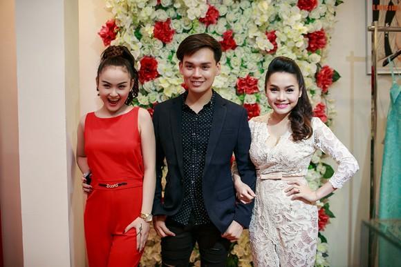 Hoa hậu Ngọc Hân cùng dàn mỹ nhân hội ngộ chúc mừng NTK Hà Duy ảnh 7