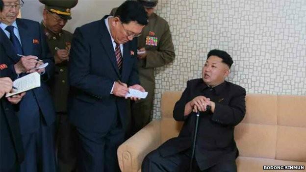 Kim-Jong-un bất ngờ xuất hiện sau thời gian dài vắng mặt ảnh 1