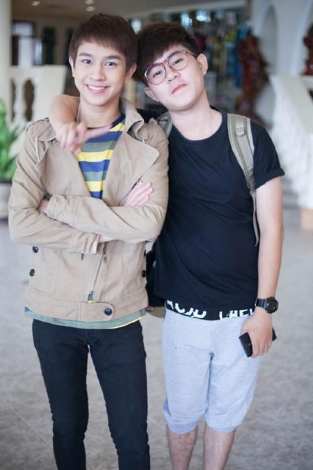 """Chí Thành X Factor """"hộ tống"""" hot boy Thái Lan khám phá thành phố biển ảnh 7"""