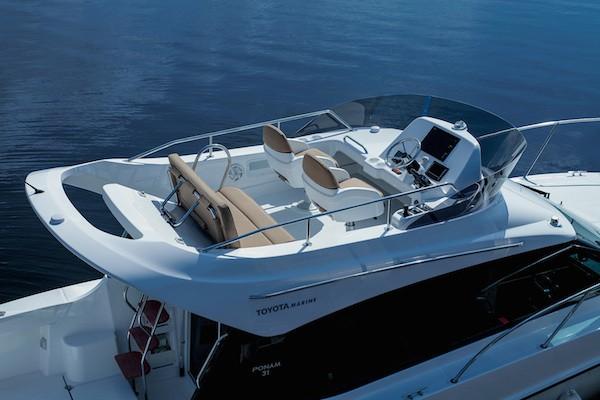 Toyota giới thiệu du thuyền thể thao Ponam-31 ảnh 6