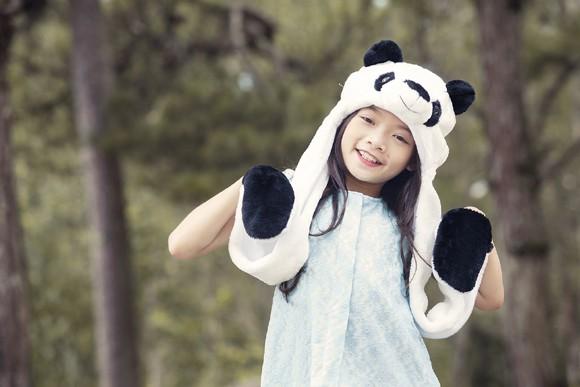 """Quán quân bước nhảy hoàn vũ nhí """"hoá"""" gấu giữa rừng thông ảnh 6"""