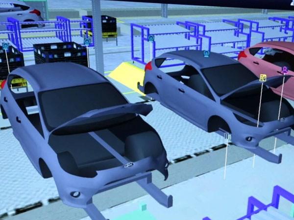 Chương trình nhà máy ảo của Ford