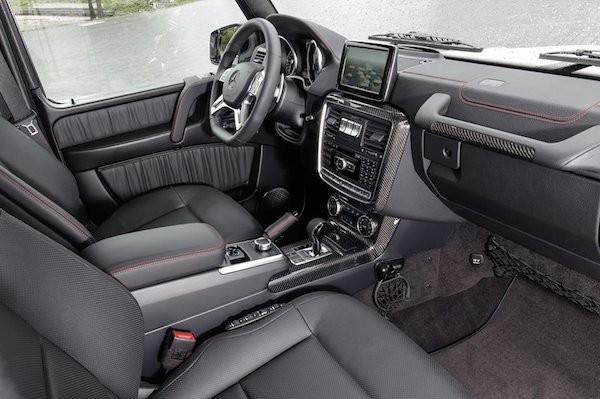 Mercedes ra mắt phiên bản đặc biệt của G-Class mừng sinh nhật 35 tuổi