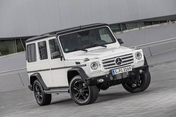 Mercedes ra mắt phiên bản đặc biệt của G-Class mừng sinh nhật 35 tuổi ảnh 4