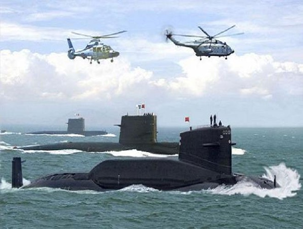 """Ấn Độ tìm cách ngăn chặn tàu ngầm Trung Quốc """"vu hồi"""" vào sân sau ảnh 1"""