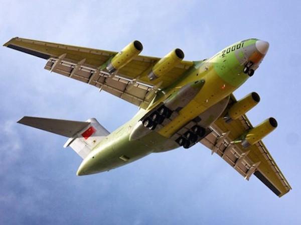 Trung Quốc muốn có phi đội 100 máy bay vận tải vào năm 2020