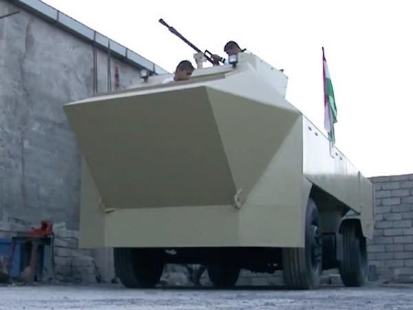 Người dân Iraq tự chế xe tăng giúp chính phủ chống Nhà nước Hồi giáo (IS) ảnh 1
