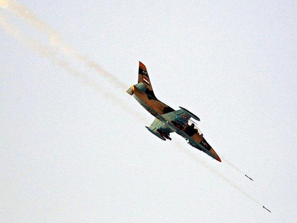 Syria tuyên bố tiêu diệt 2 máy bay chiến đấu của tổ chức Nhà nước Hồi giáo (IS) ảnh 1