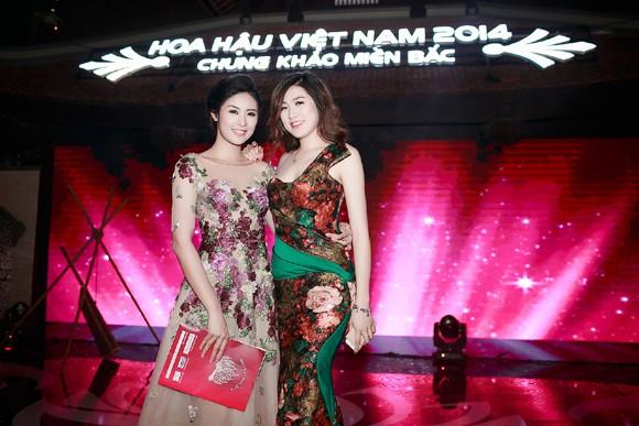 Ngọc Hân đọ sắc với Tú Anh trong đêm chung khảo miền Bắc Hoa hậu Việt Nam ảnh 9