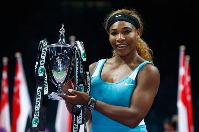 """""""Rửa hận"""" thành công, Serena Williams xuất sắc lần thứ 5 vô địch WTA Final ảnh 4"""
