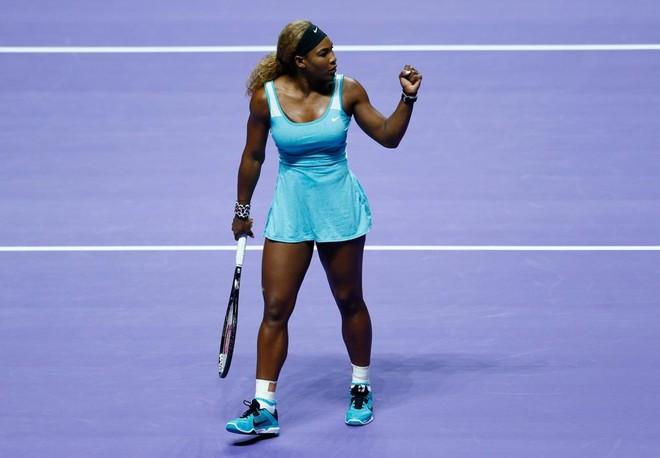 """""""Rửa hận"""" thành công, Serena Williams xuất sắc lần thứ 5 vô địch WTA Final ảnh 2"""
