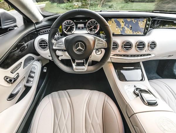 Chiêm ngưỡng hình ảnh đẹp long lanh của Mercedes S-Class Coupe ảnh 2