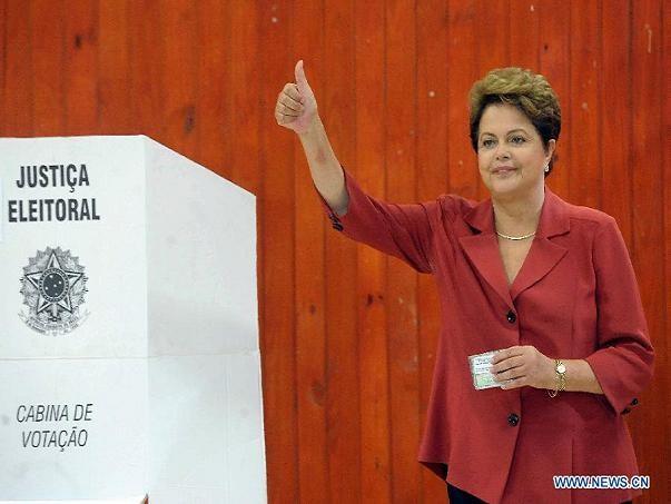 Tổng thống Brazil tái đắc cử nhiệm kỳ 2 ảnh 1