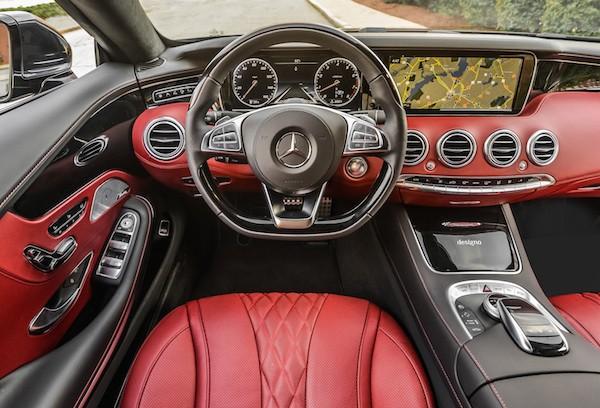 Chiêm ngưỡng hình ảnh đẹp long lanh của Mercedes S-Class Coupe ảnh 12