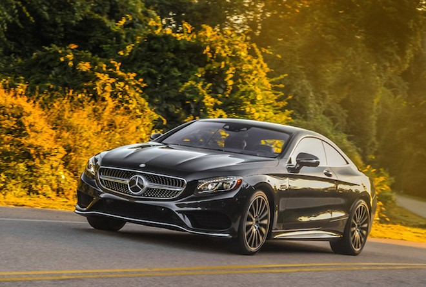 Chiêm ngưỡng hình ảnh đẹp long lanh của Mercedes S-Class Coupe ảnh 3