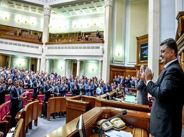 Khối Poroshenko tạm dẫn đầu mong manh trong cuộc bầu cử quốc hội Ukraine ảnh 1
