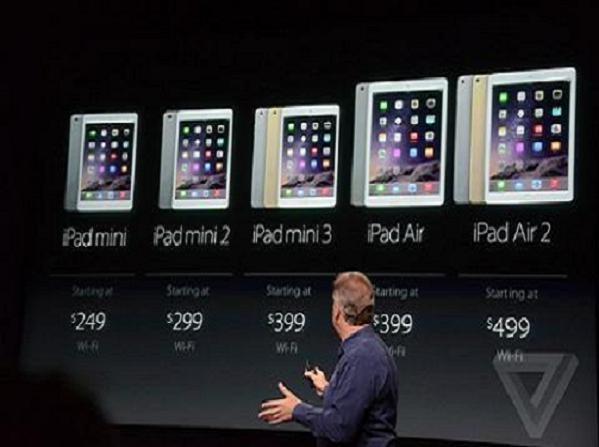 Ipad mini 3 gây thất vọng lớn trên thị trường ảnh 1