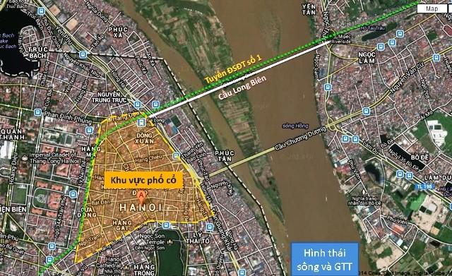 Cầu ĐS vượt sông Hồng: Sẽ cách cầu Long Biên 75m về thượng lưu? ảnh 1