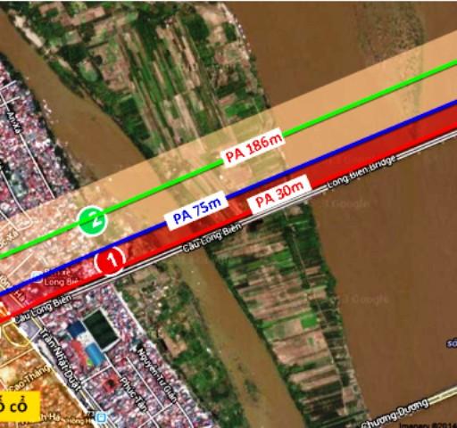 Cầu ĐS vượt sông Hồng: Sẽ cách cầu Long Biên 75m về thượng lưu? ảnh 2