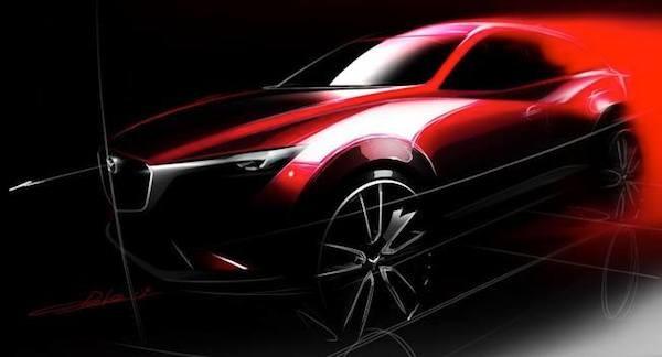 Mazda xác nhận trình làng CX-3 vào tháng 11 ảnh 1
