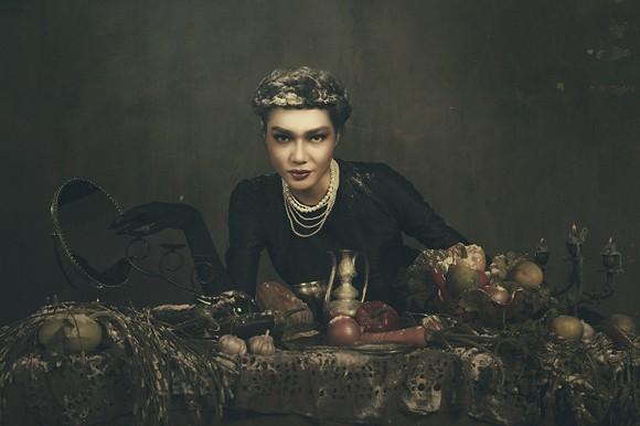 Giải vàng Ngôi sao người mẫu Thanh Trúc u buồn trong ngày Haloween ảnh 10