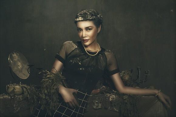 Giải vàng Ngôi sao người mẫu Thanh Trúc u buồn trong ngày Haloween ảnh 8