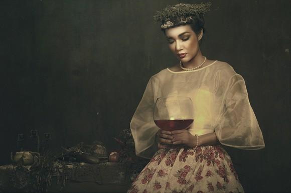 Giải vàng Ngôi sao người mẫu Thanh Trúc u buồn trong ngày Haloween ảnh 5