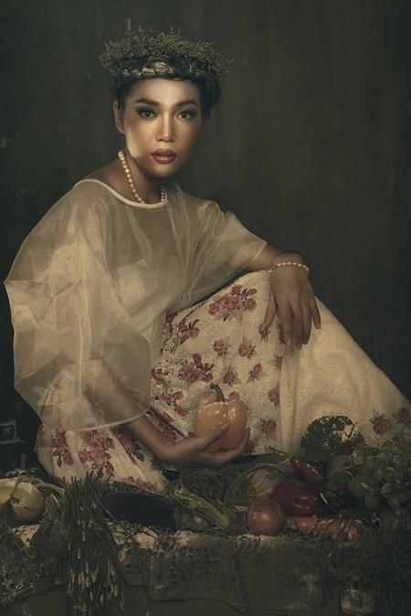 Giải vàng Ngôi sao người mẫu Thanh Trúc u buồn trong ngày Haloween ảnh 6