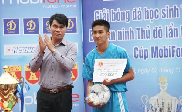 THPT Trần Quốc Tuấn lần thứ 2 đăng quang giải bóng đá học sinh Hà Nội ảnh 16