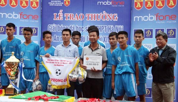 THPT Trần Quốc Tuấn lần thứ 2 đăng quang giải bóng đá học sinh Hà Nội ảnh 9