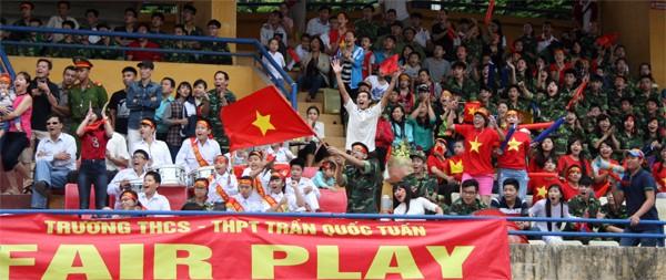 THPT Trần Quốc Tuấn lần thứ 2 đăng quang giải bóng đá học sinh Hà Nội ảnh 7