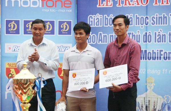 THPT Trần Quốc Tuấn lần thứ 2 đăng quang giải bóng đá học sinh Hà Nội ảnh 14