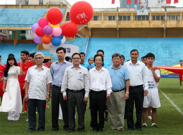 THPT Trần Quốc Tuấn lần thứ 2 đăng quang giải bóng đá học sinh Hà Nội ảnh 3