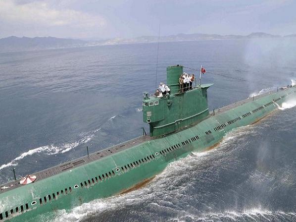 Tàu ngầm lớp Romeo của Triều Tiên