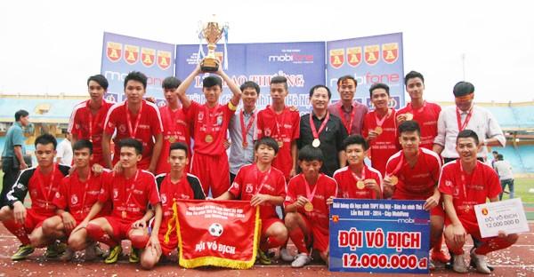 THPT Trần Quốc Tuấn lần thứ 2 đăng quang giải bóng đá học sinh Hà Nội ảnh 18