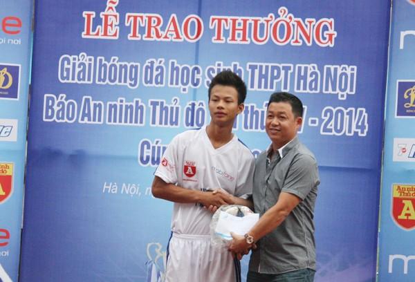 THPT Trần Quốc Tuấn lần thứ 2 đăng quang giải bóng đá học sinh Hà Nội ảnh 15