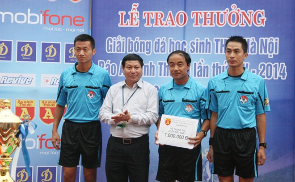 THPT Trần Quốc Tuấn lần thứ 2 đăng quang giải bóng đá học sinh Hà Nội ảnh 10