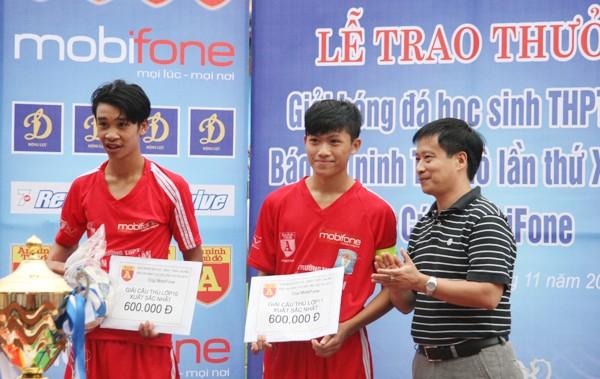 THPT Trần Quốc Tuấn lần thứ 2 đăng quang giải bóng đá học sinh Hà Nội ảnh 11