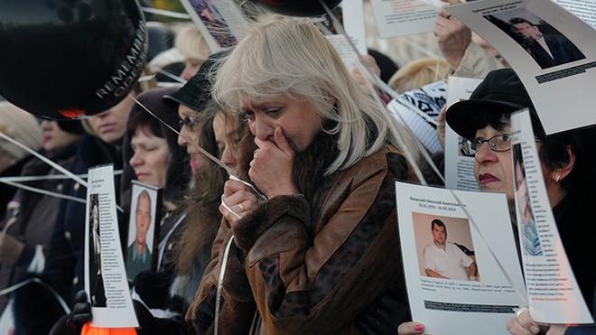 Hàng trăm người dân châu Âu tưởng nhớ các nạn nhân trong thảm kịch Odessa