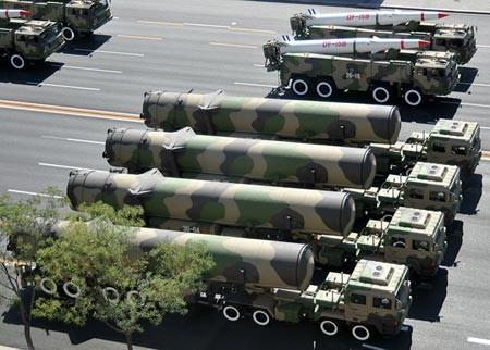 Tên lửa đạn đạo xuyên lục địa DF 31A