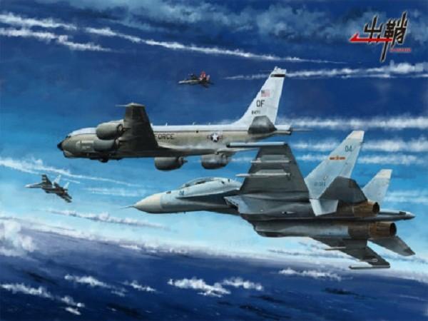 """Máy bay Trung Quốc đã từng có pha """"múa bụng"""" nguy hiểm trước máy bay Mỹ"""