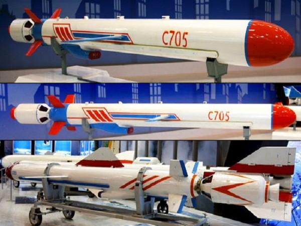 Tên lửa chống hạm C-705 của Trung Quốc