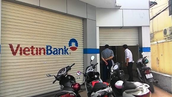 Trộm đột nhập ngân hàng VietinBank, lấy phải két sắt...rỗng ảnh 1