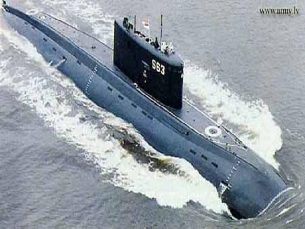 Tàu ngầm động cơ điện - diesel