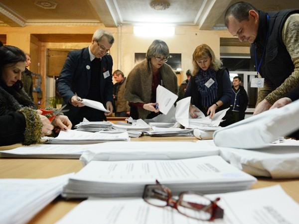 Cộng hòa Donetsk tự xưng đang tiến hành kiểm phiếu bầu