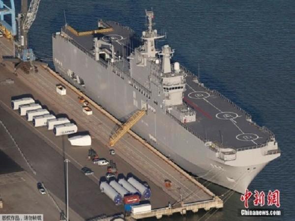 Tàu lớp Mistral đã hoàn thành thử nghiệm chờ ngày bàn giao