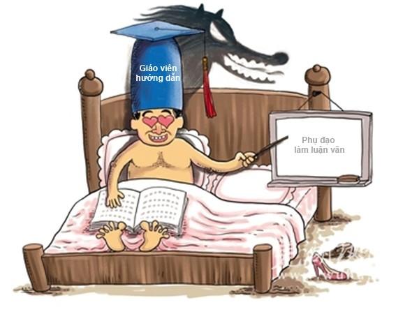"""Khó chặn giáo viên háo sắc """"dạy học"""" trên giường ảnh 1"""